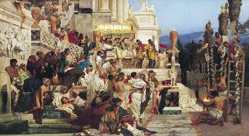 H. Siemiradzki, Pochodnie Nerona