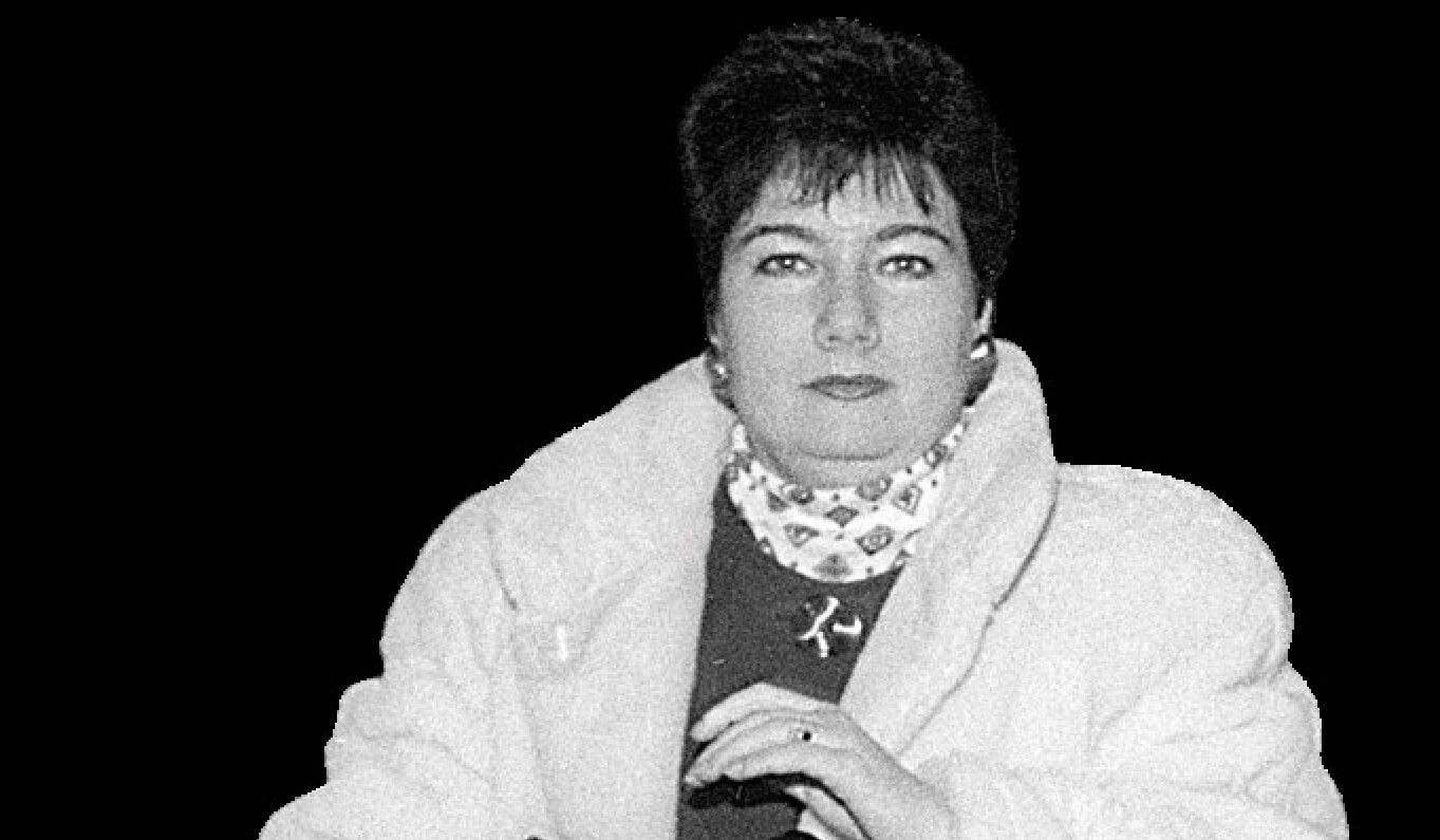 Hanna Gronkiewicz-Waltz w 1993 r. Pełniła wtedy funkcję prezesa NBP