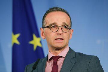 Heiko Maas, minister spraw zagranicznych Niemiec