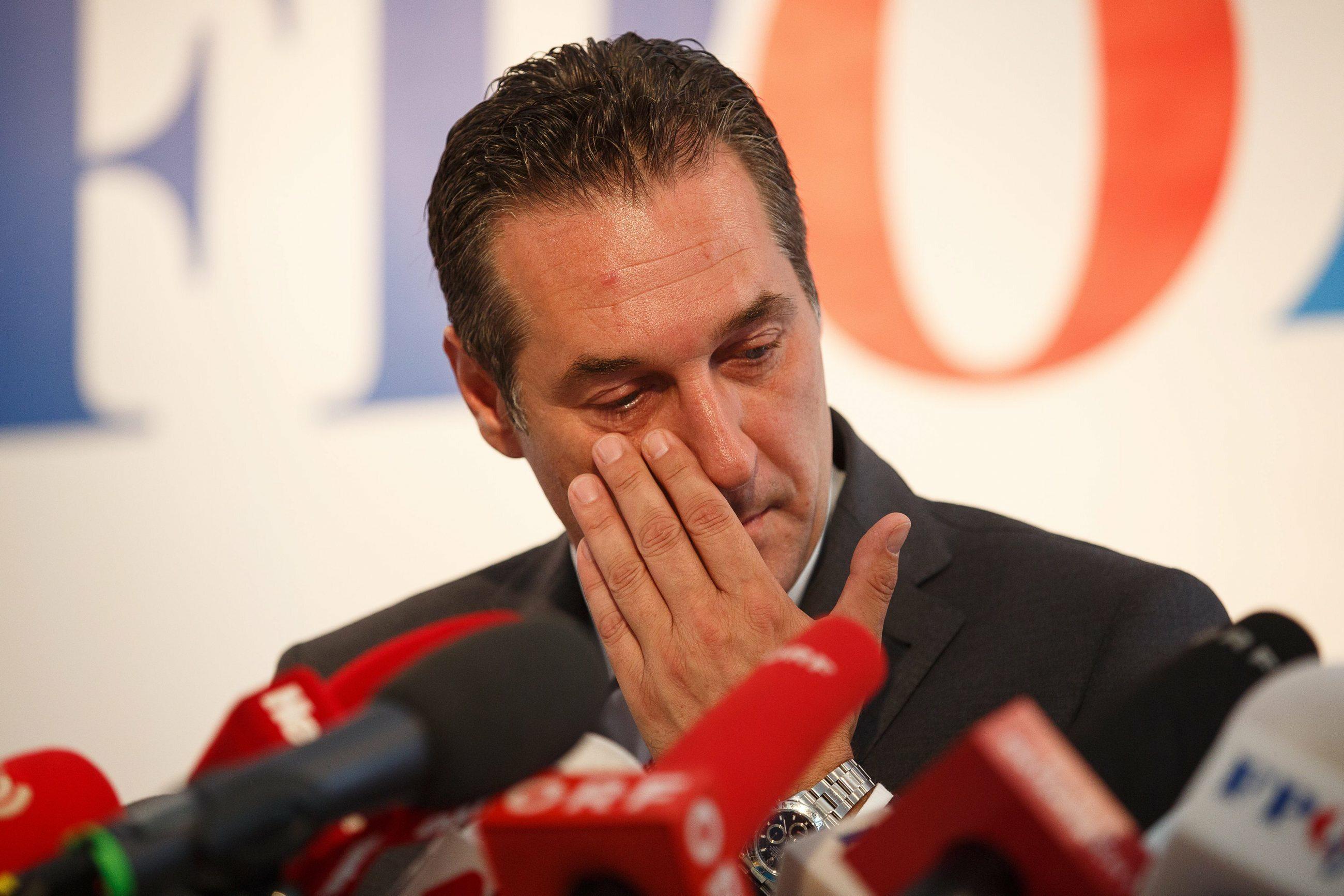 Heinz Christian Strache, lider FPO
