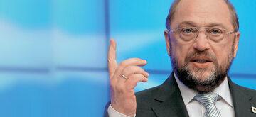 Herr Schulz i jego Europa