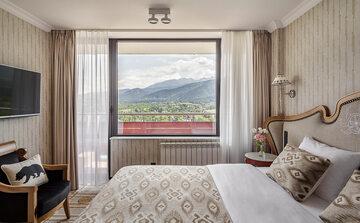 Hotel Mercure Kasprowy widok z okna