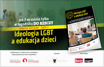 """Ideologia LGBT a edukacja dzieci"""