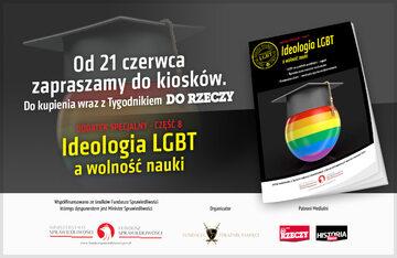 """""""Ideologia LGBT a wolność nauki""""."""