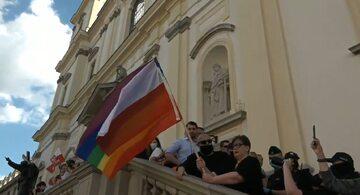 Incydent na Marszu Powstania Warszawskiego