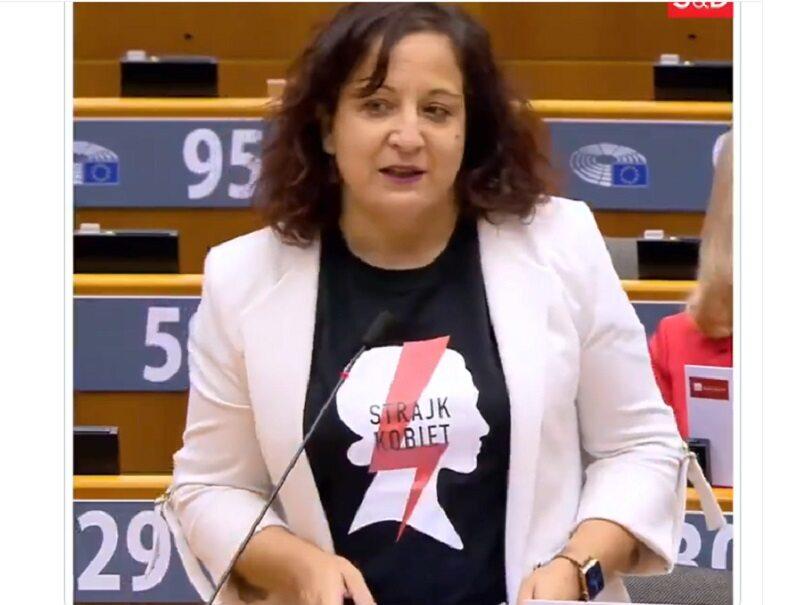 Iratxe García Pérez w Parlamencie Europejskim