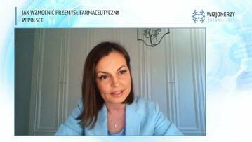 """""""Jak wzmocnić przemysł farmaceutyczny w Polsce"""". Debata konferencji """"Wizjonerzy Zdrowia"""""""
