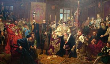 Jan Matejko, Unia lubelska