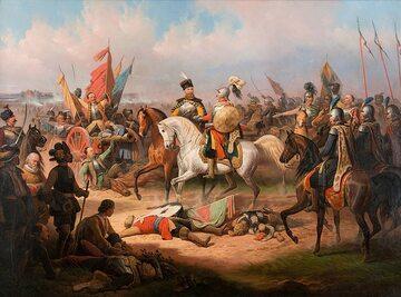 January Suchodolski, Chodkieiwcz po bitwie pod Kircholmem