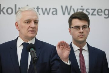 Jarosław Gowin i Piotr Muller