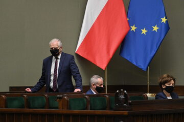 Jarosław Gowin (Porozumienie) w Sejmie