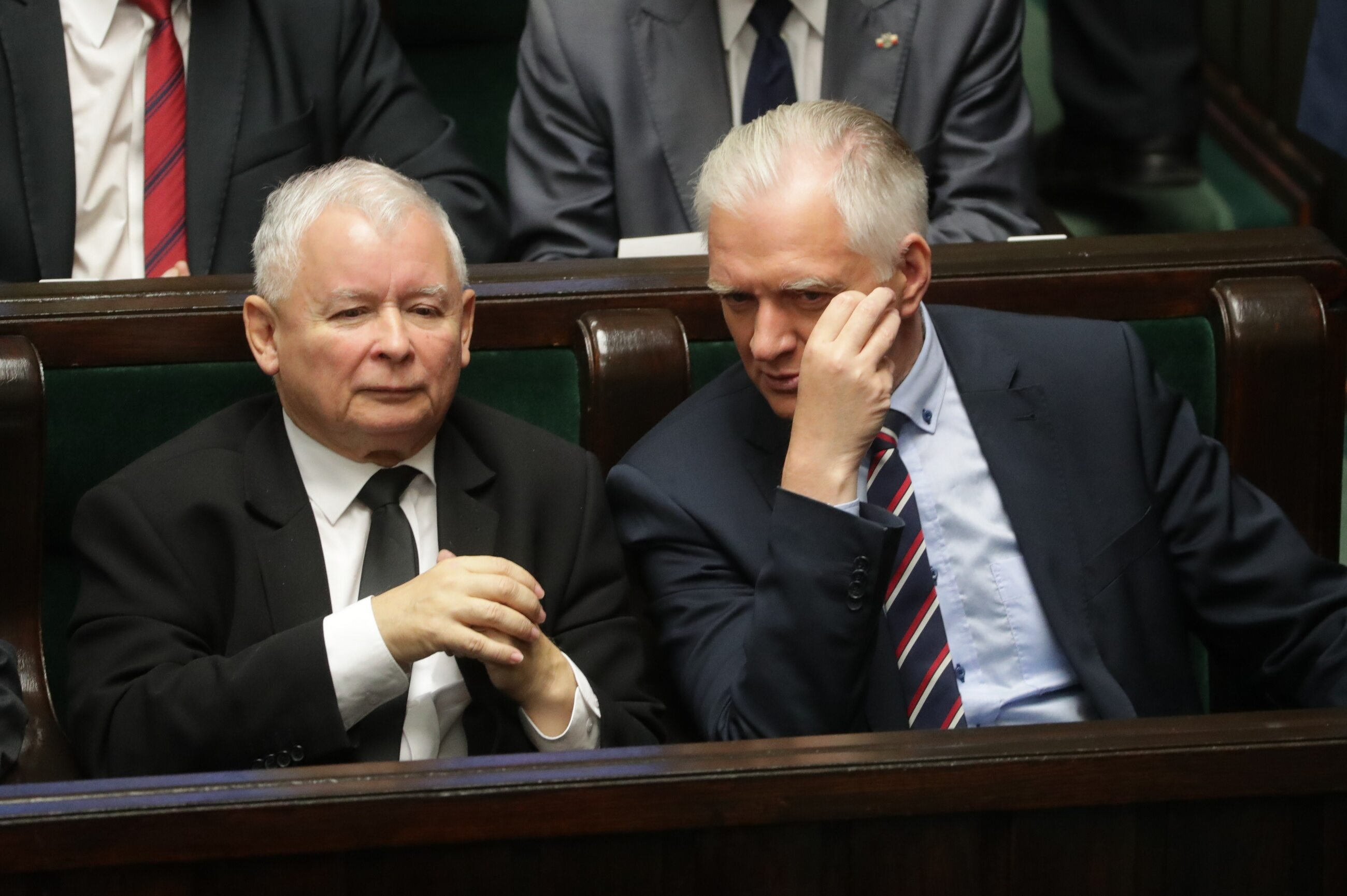 Jarosław Kaczyński i Jarosław Gowin, Sejm