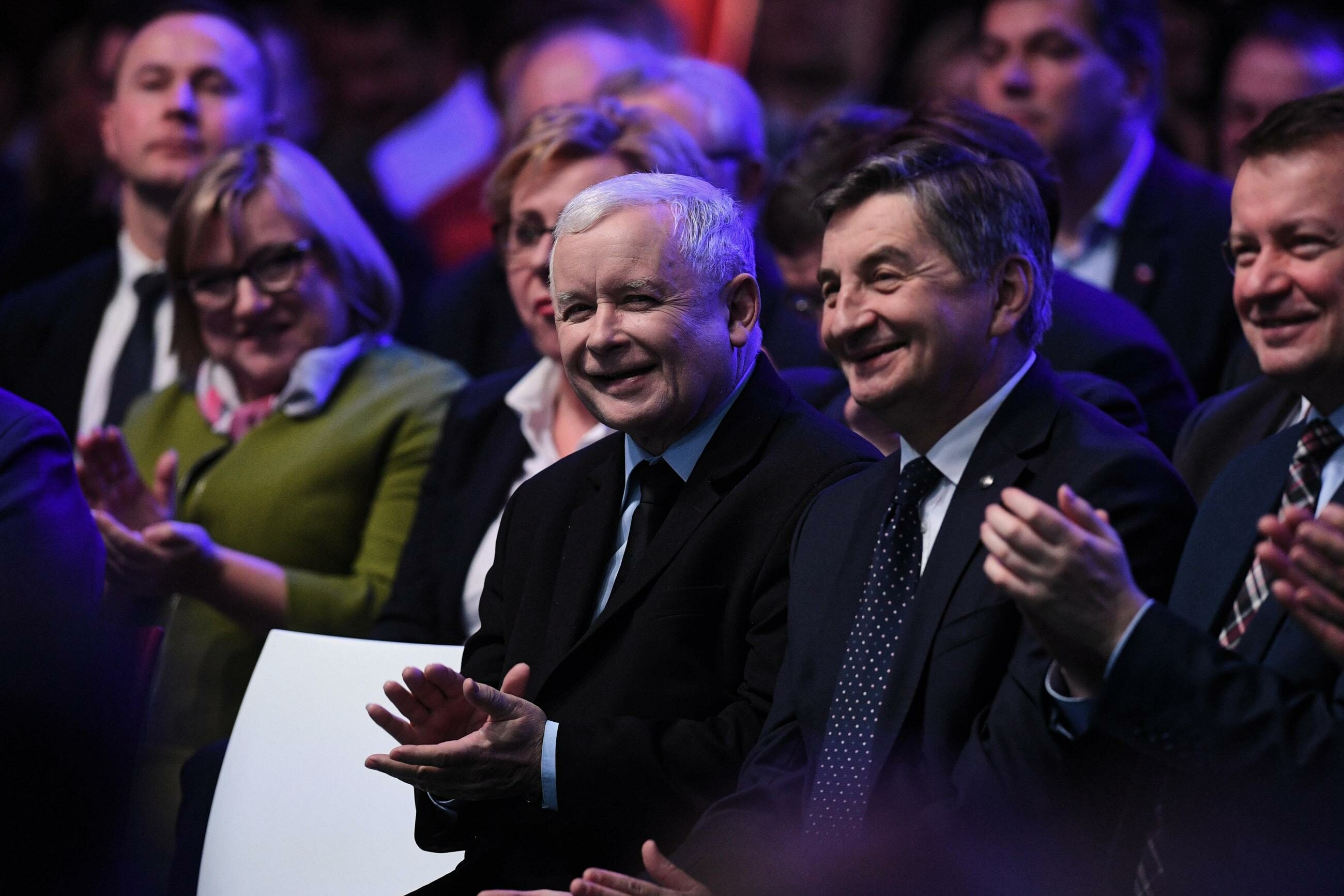 Jarosław Kaczyński, Marek Kuchciński, Mariusz Błaszczak