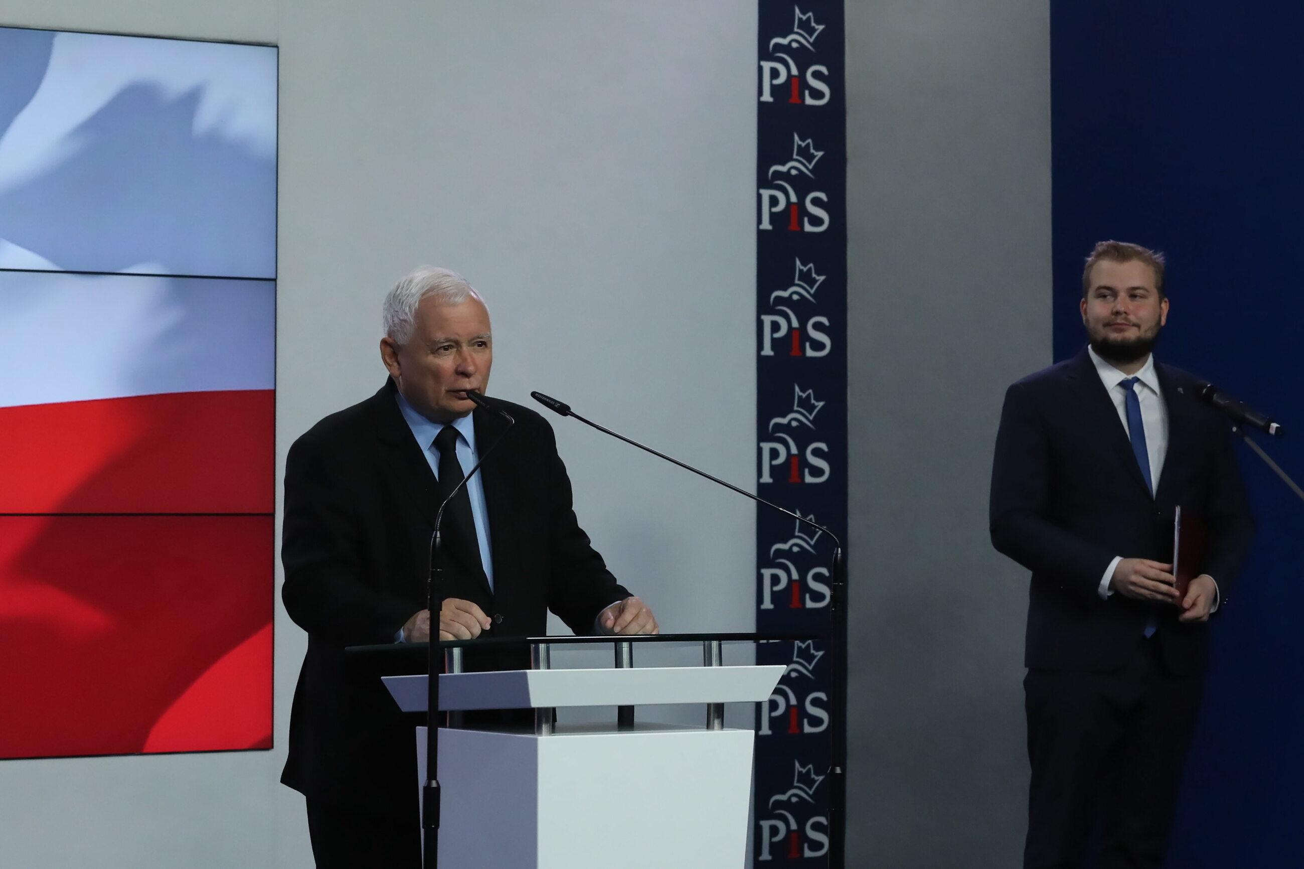 Jarosław Kaczyński, Michał Moskal