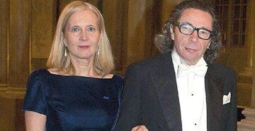 Jean-Claude Arnault z żoną Katariną Frostenson