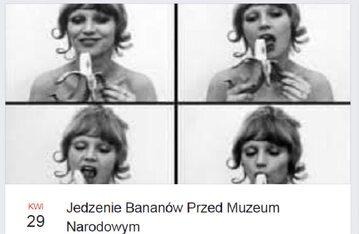 """""""Jedzenie Bananów Przed Muzeum Narodowym"""". Szykuje się protest w Warszawie"""