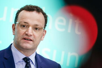 Jens Spahn, minister zdrowia RFN
