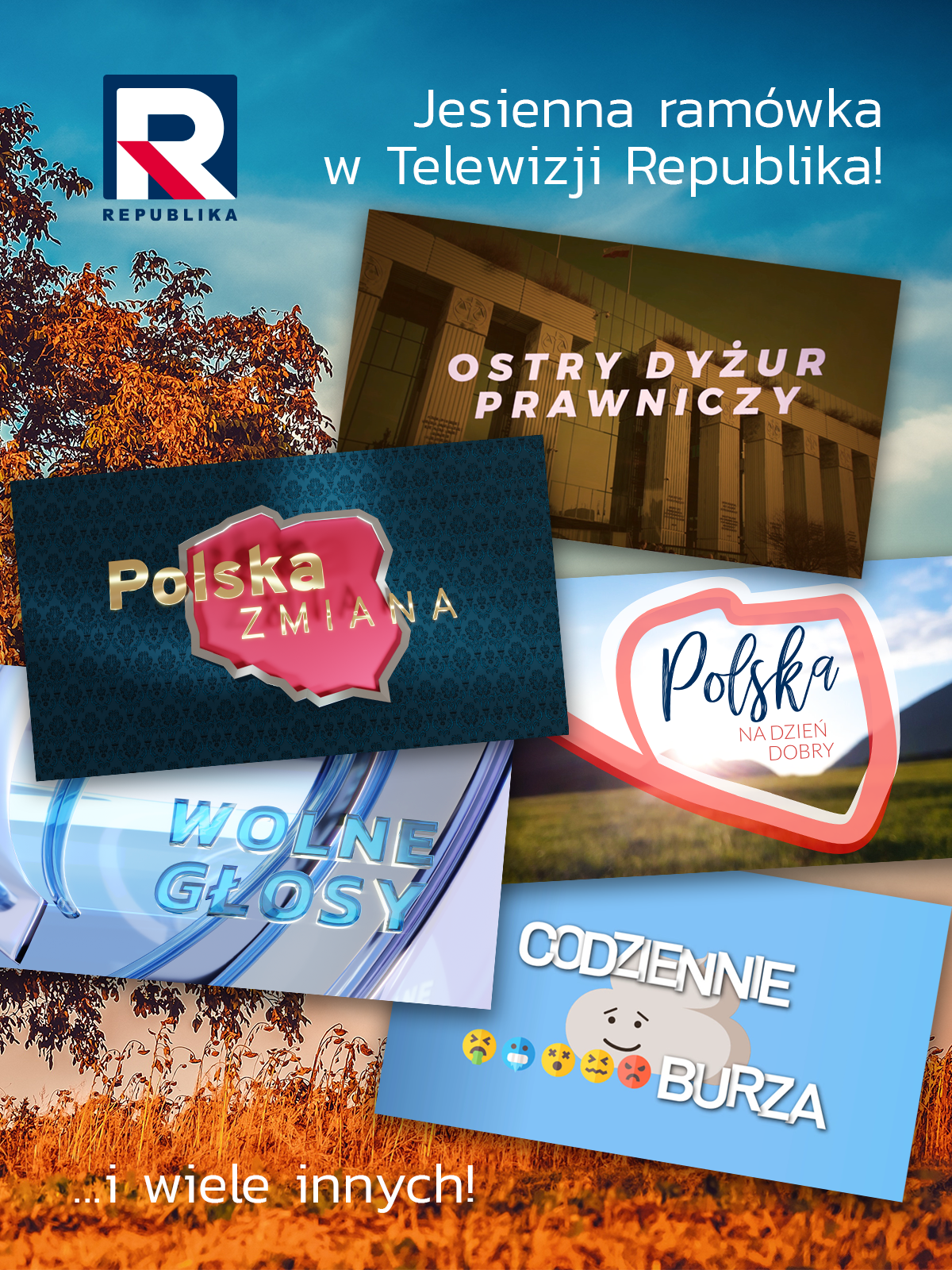 Jesienna ramówka TV Republika
