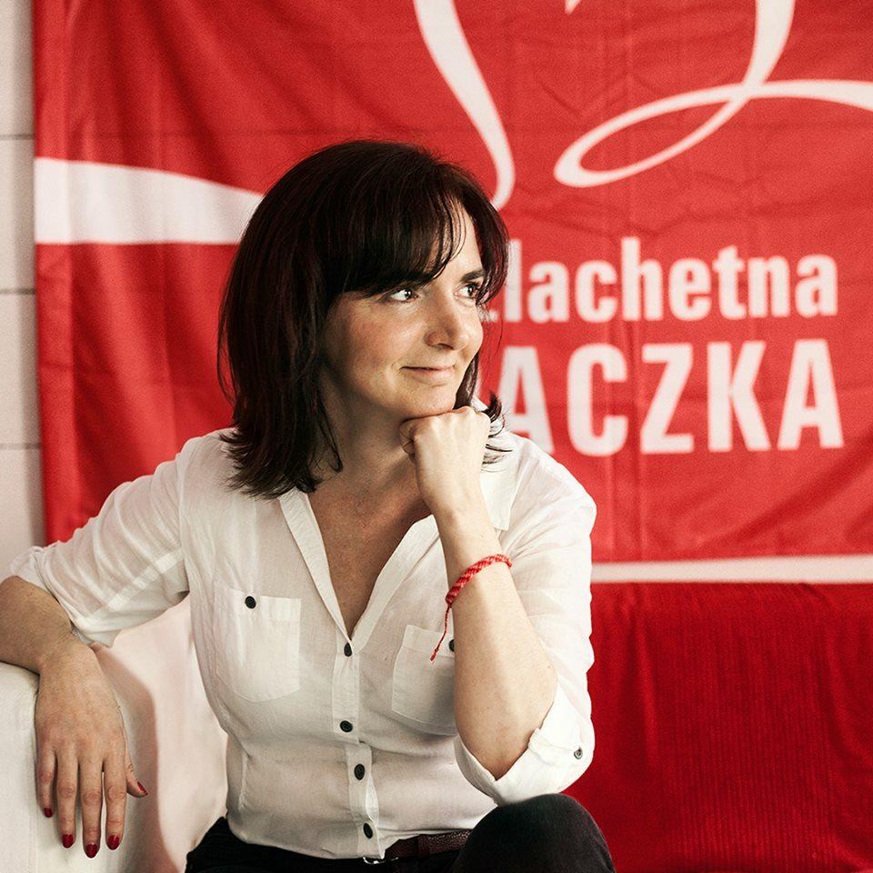 Joanna Sadzik, prezes Stowarzyszenia Wiosna