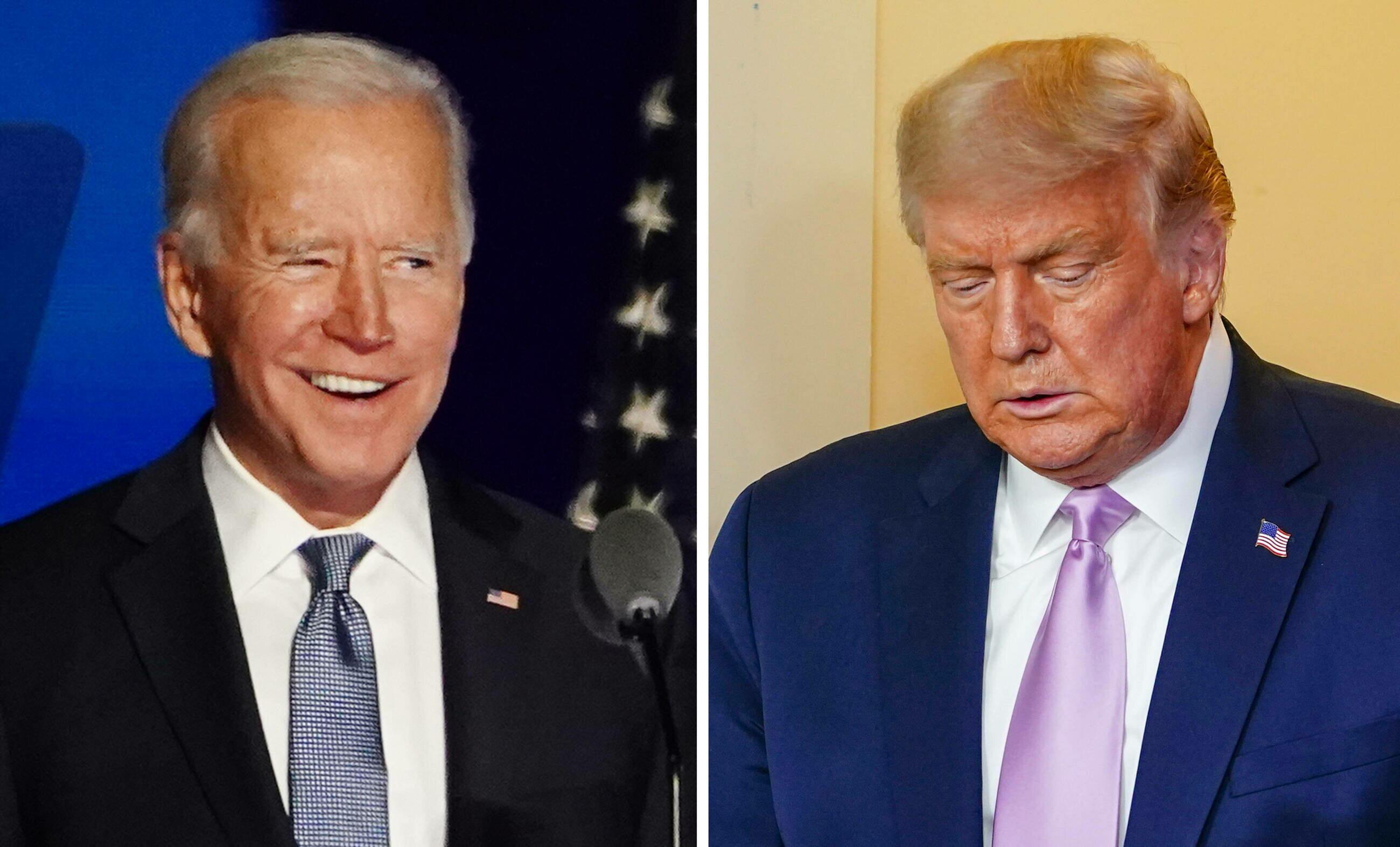 Joe Biden i Donald Trump