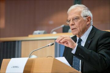 Josep Borrell w Parlamencie Europejskim