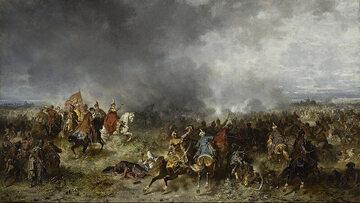 Józef Brandt, Bitwa pod Chocimiem