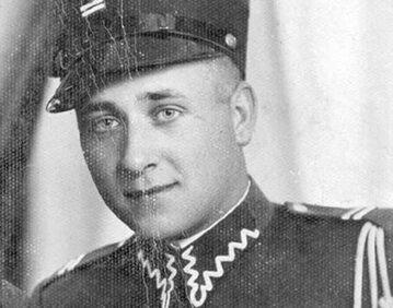 Józef Franczak w mundurze kaprala żandarmerii przedwojennego WP