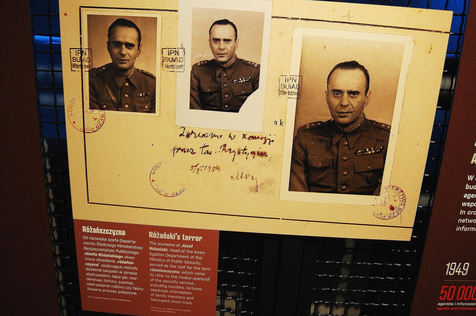 Józef Różański, stalinowski zbrodniarz