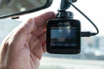 Kamera samochodowa, zdjęcie ilustracyjne