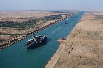 Kanał Sueski, 1981 rok