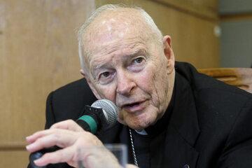 Kard. Theodore McCarrick podczas wizyty w Warszawie w 2018 r.