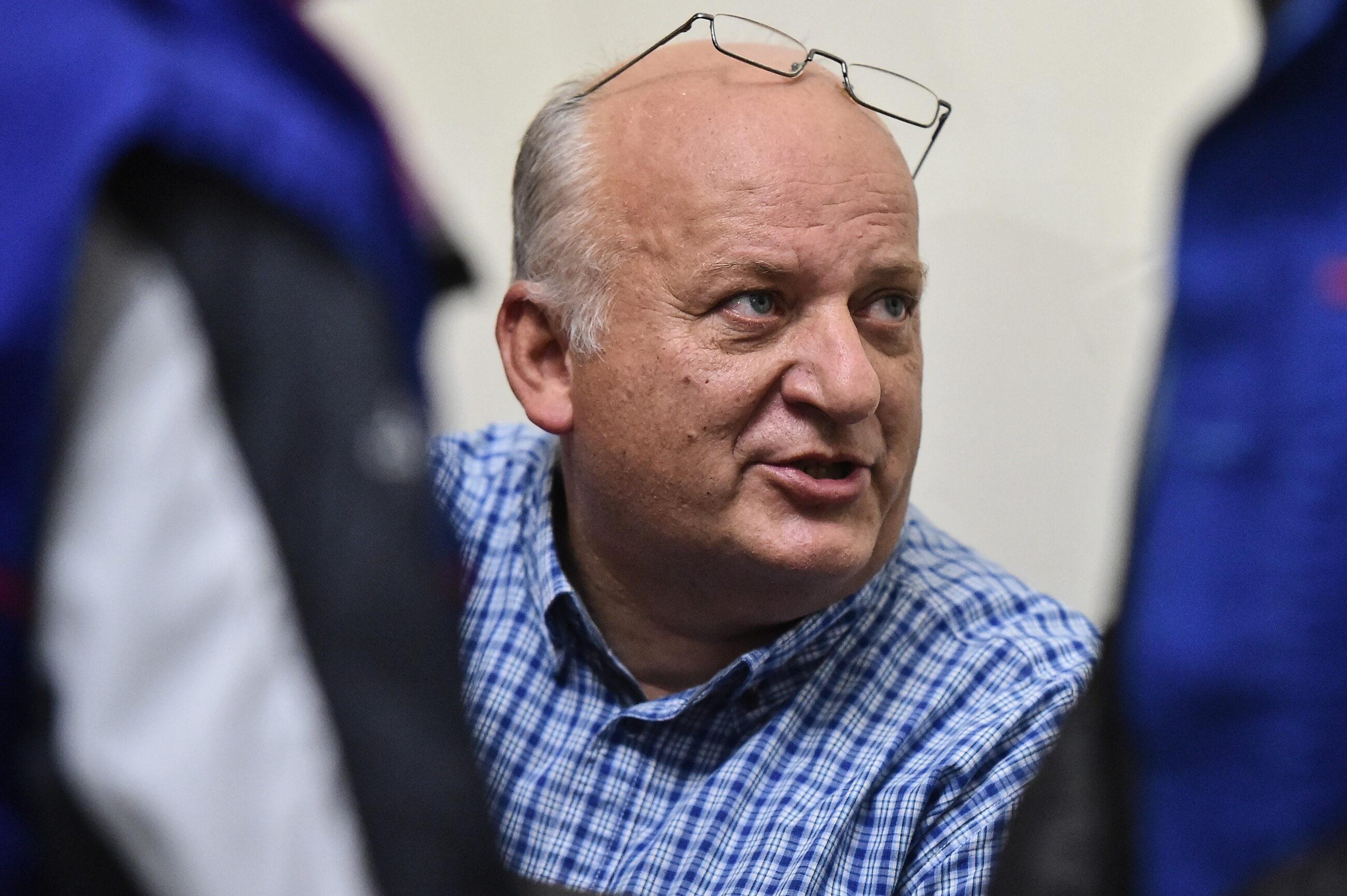 """Karol Guzikiewicz, wiceszef stoczniowej """"Solidarności"""" w Gdańsku"""