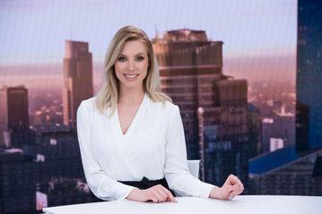 Karolina Pajączkowska w TVP Info