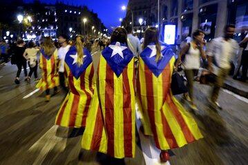 Katalonia walczy o niepodległość