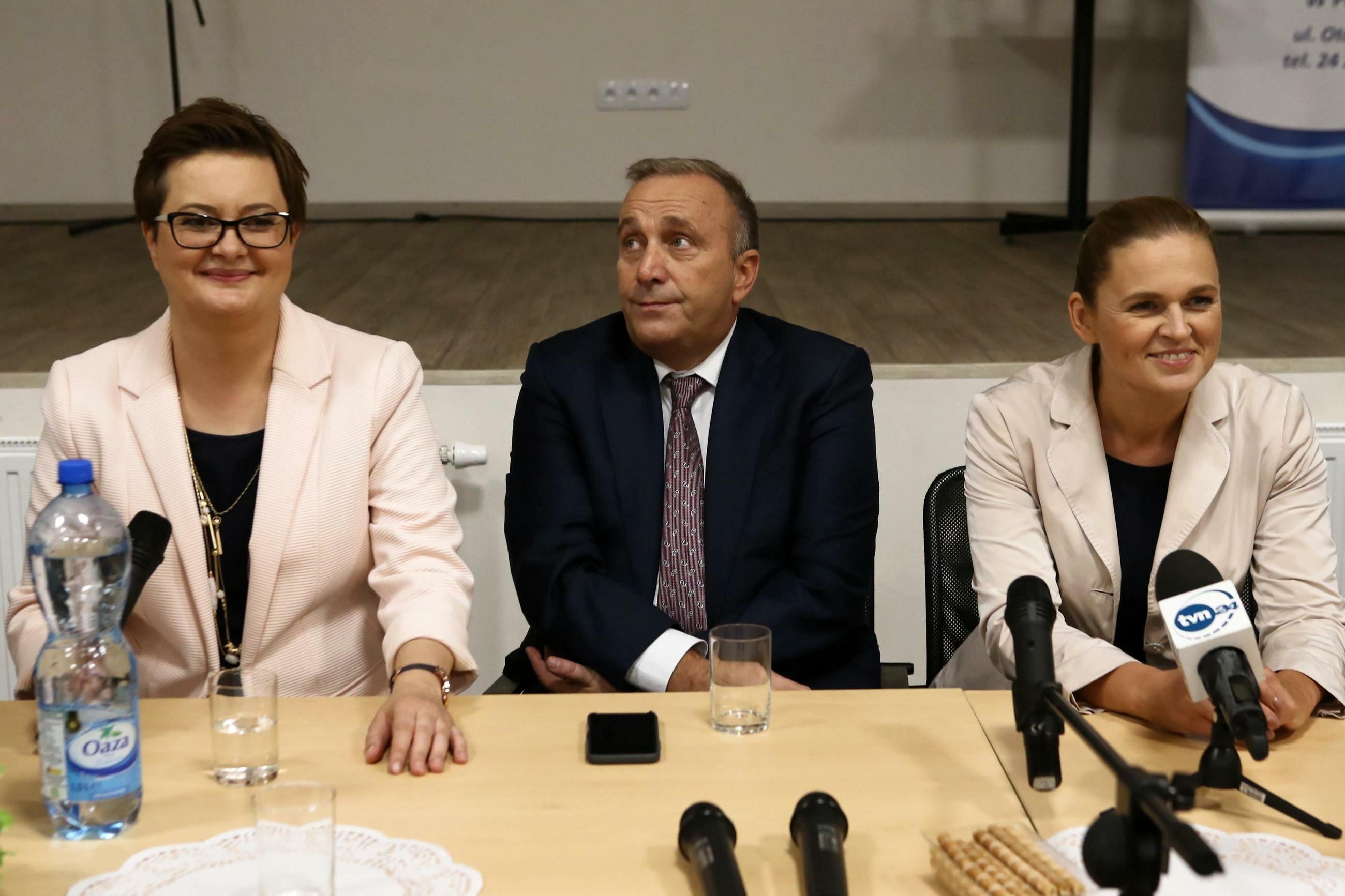 Katarzyna Lubnauer, Grzegorz Schetyna, Barbara Nowacka