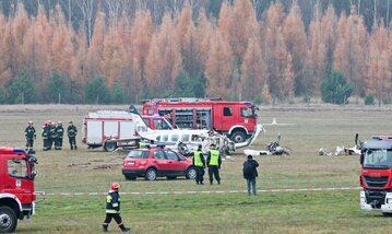 Katastrofa samolotu, zdjęcie ilustracyjne
