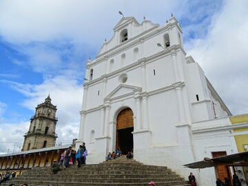 Katedra Santa Cruz del Quiché w Gwatemali