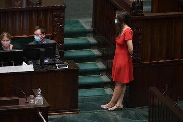 Klaudia Jachira, Koalicja Obywatelska