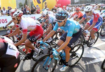 Kolarze na trasie Tour de Pologne