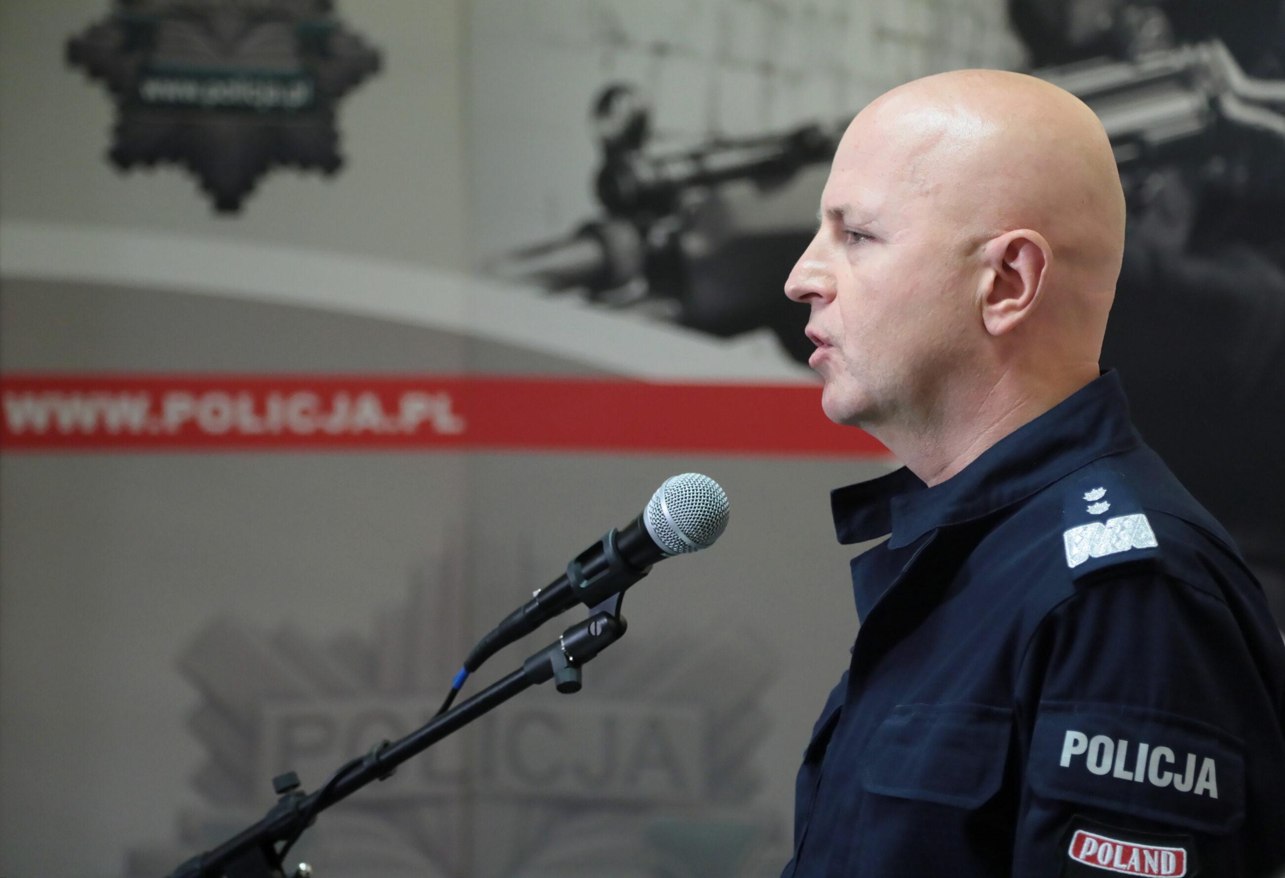 Komendant Główny Policji gen. insp. dr. Jarosław Szymczyk