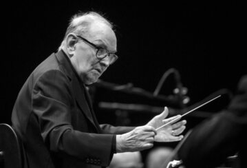Kompozytor i dyrygent Ennio Morricone