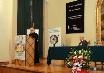 Konferencja papieska w Łodzi