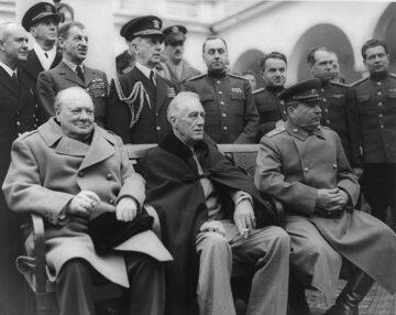 Konferencja w Jałcie, luty 1945 r.