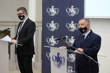 Konferencji prasowa przedstawicieli NIK