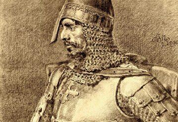 Konrad Mazowiecki na rysunku Jana Matejki