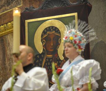 Kopia obrazu Matki Boskiej Częstochowskiej