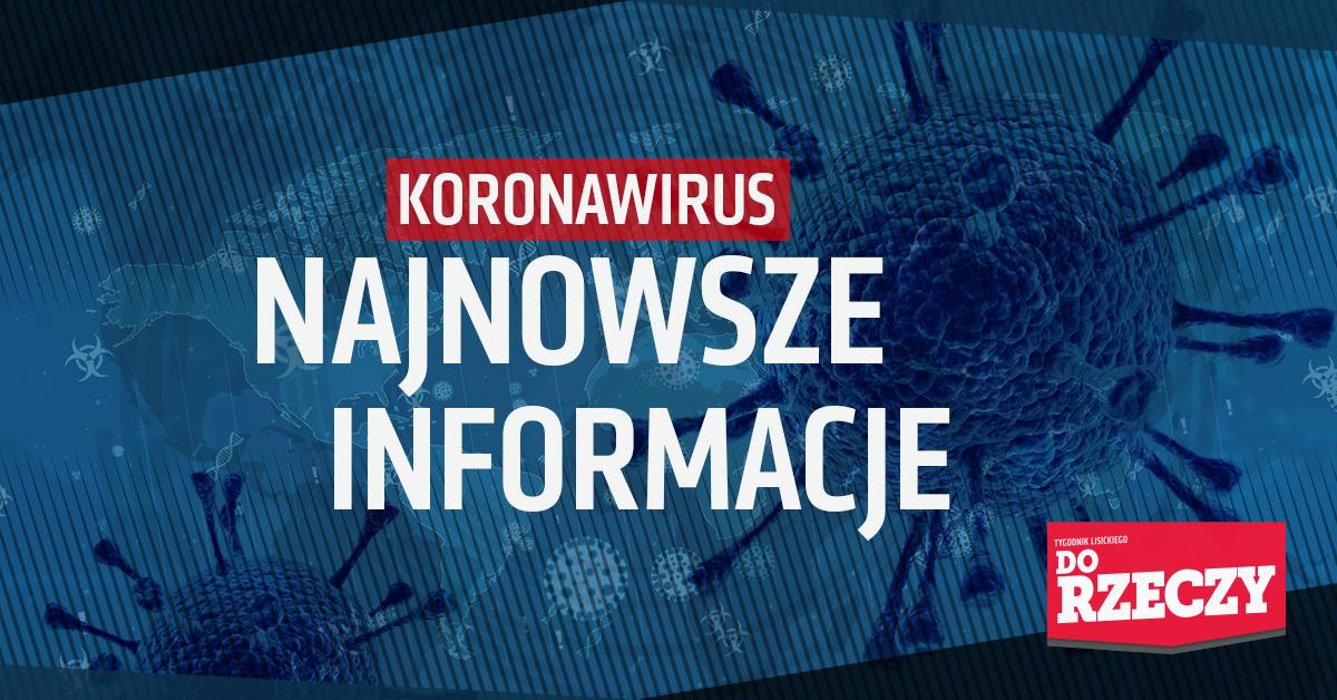 Koronawirus: najnowsze informacje