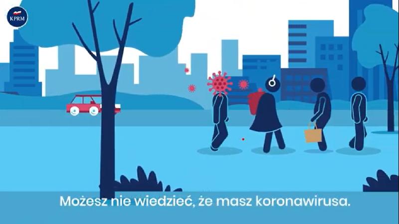 Koronawirus: Rusza akcja informacyjna na temat zasad bezpieczeństwa
