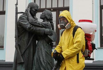 Koronawirus w Rosji, zdjęcie ilustracyjne