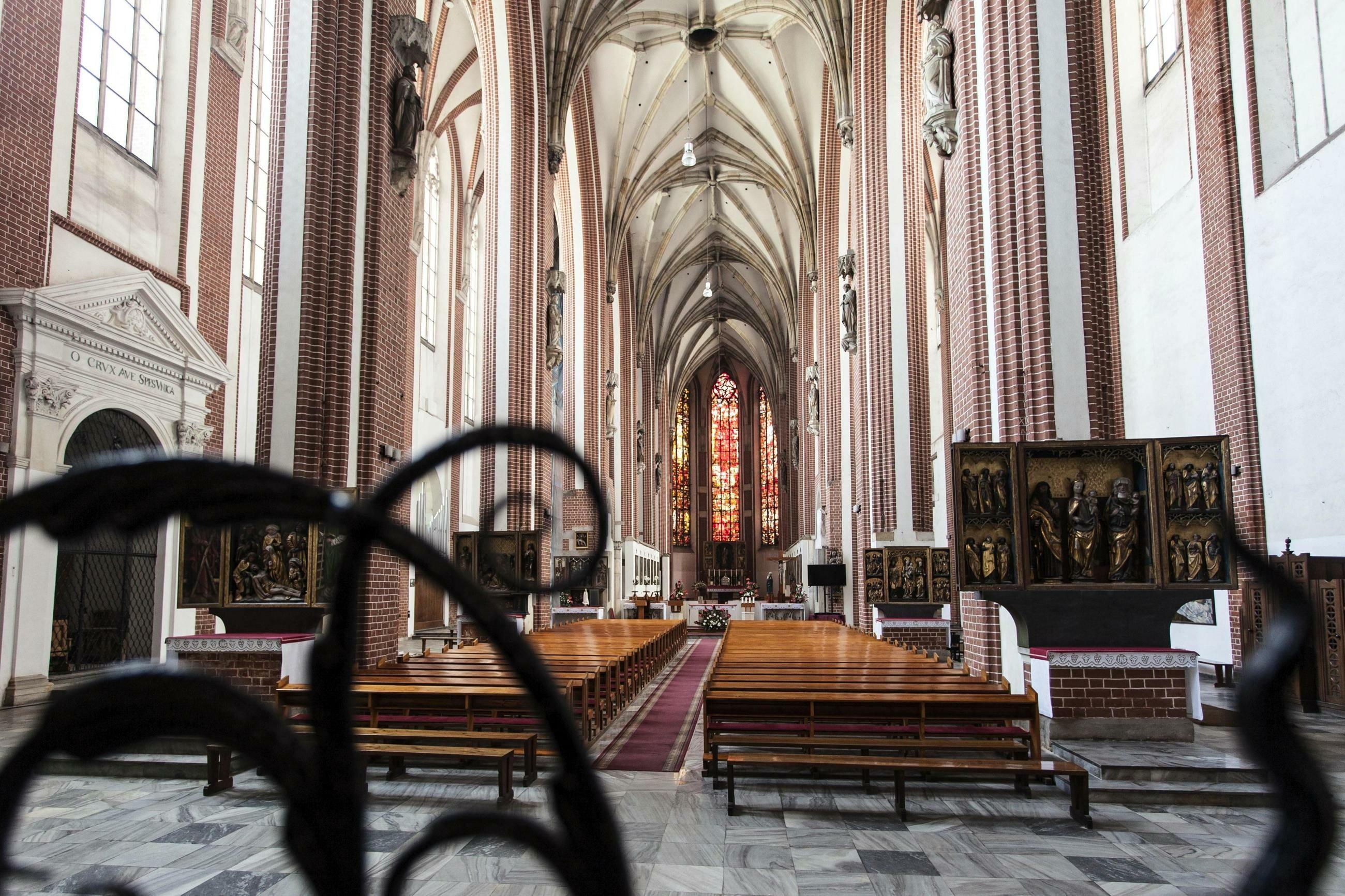 Kościół pw. Najświętszej Marii Panny we Wrocławiu, gdzie doszło do ataku na księdza